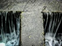 The water flow of the river. Royalty Free Stock Photos