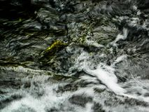 The water flow of the river. Royalty Free Stock Photography