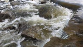 Water flow in the river Royalty Free Stock Photos