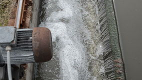 Water flow settler clean Stock Images