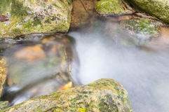 Water flow. Small water flow, Thailand Asia Royalty Free Stock Photo