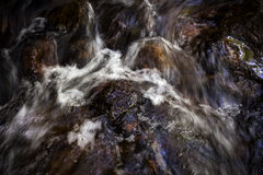 Water flow in stream Stock Images