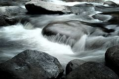 Water flowing Royalty Free Stock Image