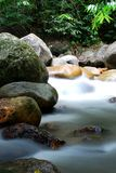 Water flowing Royalty Free Stock Images