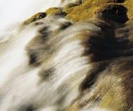 Water flowing in creek Royalty Free Stock Photos
