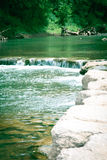 Water. Flowing freely down the river Stock Photos