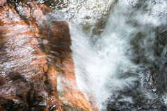 Water flowing Stock Photography