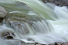 Free Water Flowing Over Rocks Royalty Free Stock Photography - 5431927