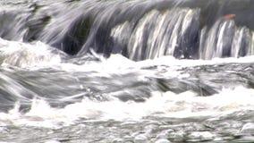 Water Flowing Over Rocks 2 stock video