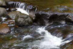Water flowing Royalty Free Stock Photography