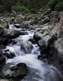 Water flowing in a river Stock Image