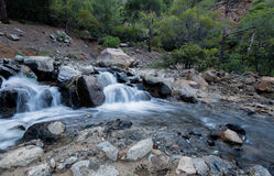 Water flowing in a river Royalty Free Stock Photo