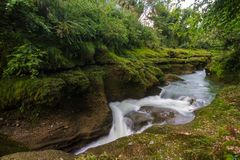 Devi`s Falls in Pokhara, Nepal Royalty Free Stock Images