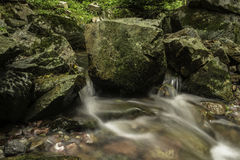 Water flows Stock Image