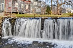 Waterfall on the Otter Creek royalty free stock images