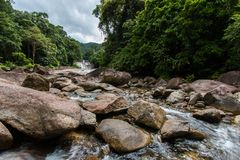 Water Flows Royalty Free Stock Photography