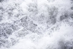 Water flows under pressure at hydroelectric dams royalty free stock images
