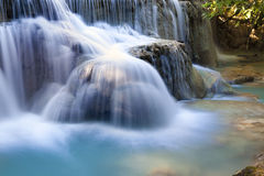 Water flows - waterfall Royalty Free Stock Images