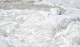 Water foam Stock Photography