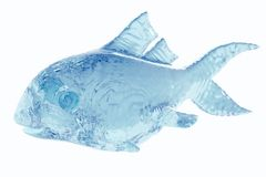 Water in form fish Stock Photos