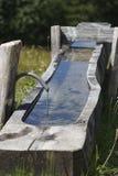 Fresh mountain water fountain Royalty Free Stock Image