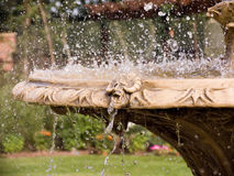 Water Fountain. Ornamental Garden Water Fountain Royalty Free Stock Images