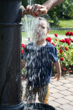 Water fountain Royalty Free Stock Photos