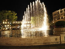 Water Fountain at Americana Royalty Free Stock Images