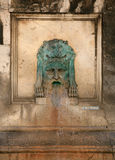 Water fountain, Arles, France. Royalty Free Stock Photography