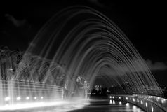 Free Water Fountain At Marina Barrage Royalty Free Stock Images - 15814579