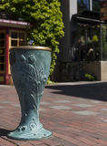 Water fountain. Downtown Fairhaven, Bellingham WA. USA Royalty Free Stock Image