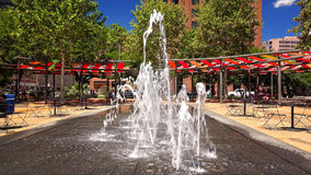 Water Fountain in Downtown San Antonio, Texas Royalty Free Stock Photography