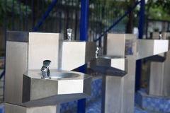 Water fountain for drinking Stock Images