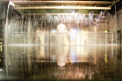 Water fountain in Guinness Storehouse Museum. Royalty Free Stock Images