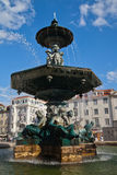 Water fountain in Lisbon Stock Photography