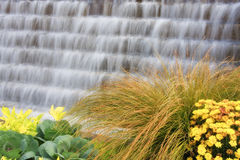 Water Fountain at the NC Arboretum Stock Photo