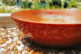 A water fountain provides a beautiful visual piece in any garden Stock Image