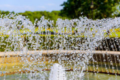 Water fountain stream Stock Photography
