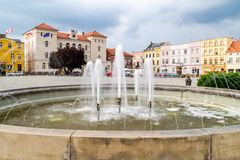 Water, Fountain, Water Feature, Town Square