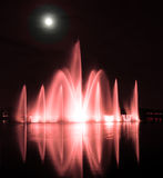 Water fountains Royalty Free Stock Image