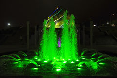 Water fountains Stock Photography