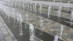 Water fountains Royalty Free Stock Images
