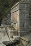 Water. Fountains in the Woods. Italy. Campania Royalty Free Stock Images