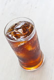 Water, Fresh coke in glass Royalty Free Stock Photography