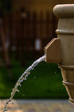 Water. Fresh, summer feel, opacity, beautiful feeling after the rain Royalty Free Stock Image