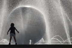 Free Water From Fountain Stock Photos - 119067873