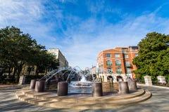 Water Front Park in Charleston South Carolina Royalty-vrije Stock Foto's
