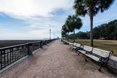 Water Front Park in Charleston South Carolina royalty-vrije stock fotografie