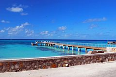 Water front Pier Royalty Free Stock Photos