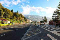Water Front of the Port of Funchal, Madeira, Portugal Royalty Free Stock Photo